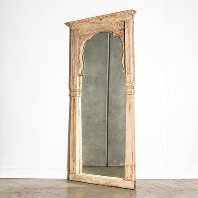 IMIR0120-13 A Old Indian Door Frame Mirror