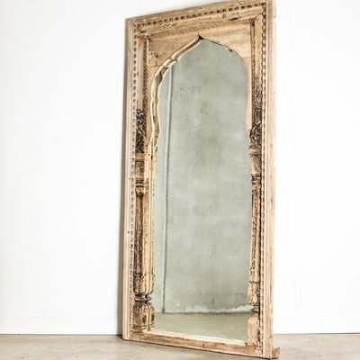 IMIR0120-14 Old Indian Door Frame Mirror