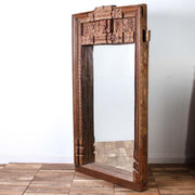 IMIR0217-06 Indian Old Window Frame Mirror