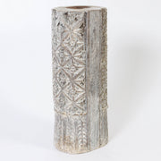 IDE1216-08 Old Indian Pillar Candlestands