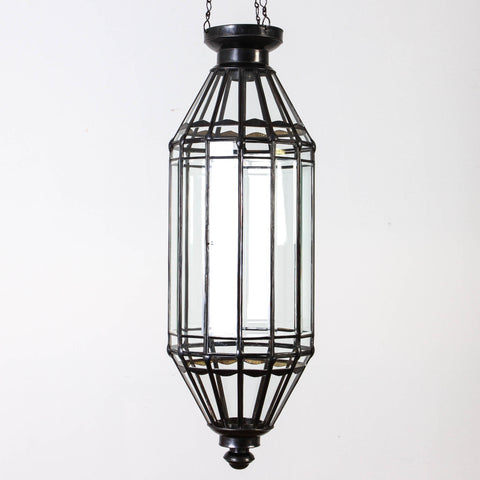 Tunis Hanging Glass Lantern