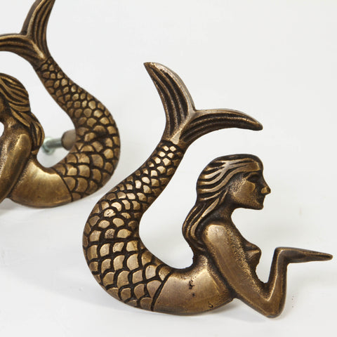 Mermaid Drawer Pulls - set of 2