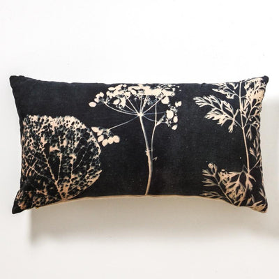 Indigo Bloom Cushion