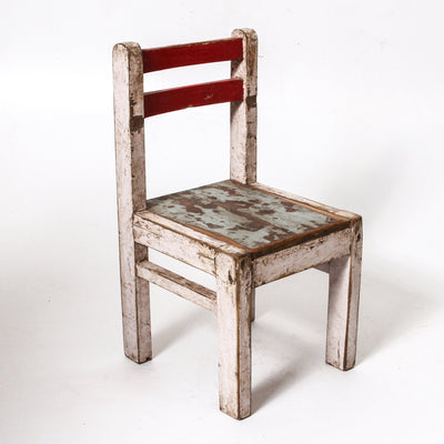 IFU1118-33 Vintage Gujarat Children's Chair