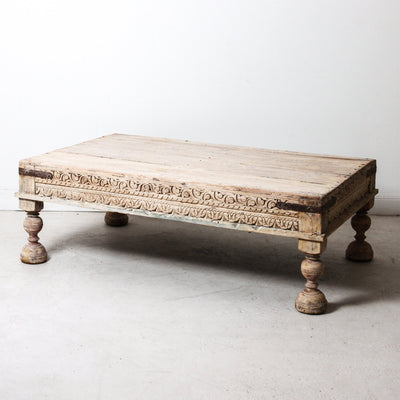 IFU1118-37 Vintage Indian Coffee Table