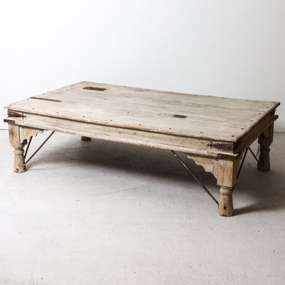 IFU1118-35 Vintage Indian Coffee Table