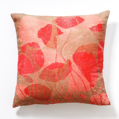 Poppies Bright Cushion