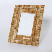 Punched Bone Photo Frame