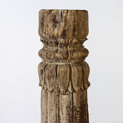 IDE0517-01 A Old Indian Pillar Candlestand