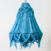 Stratus Beaded Chandelier Turquoise