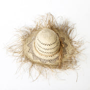 Huck Rafia Hat Large
