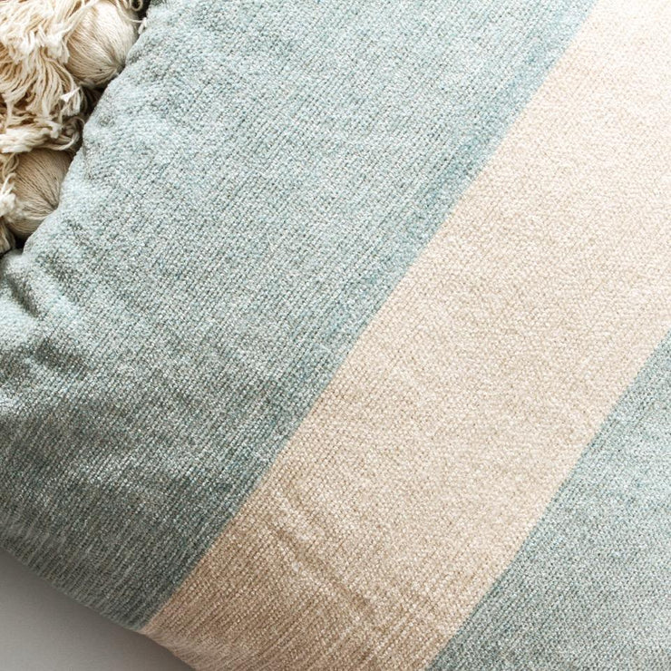 Sea Spray Stripe Cushion