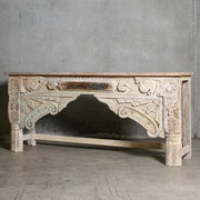 IFU0720-059 Indian Old Panel Console