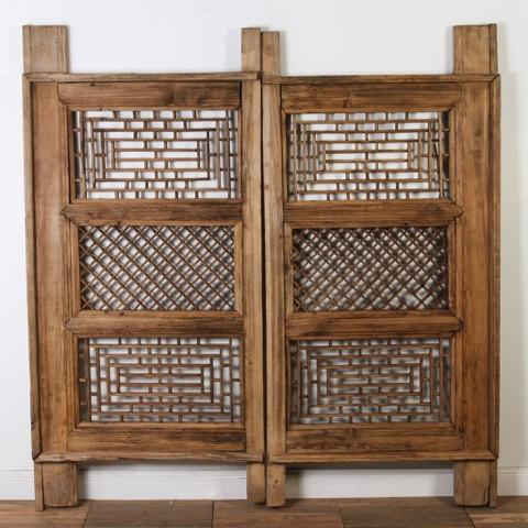 CAE0717-04 Antique Chinese Screen Windows