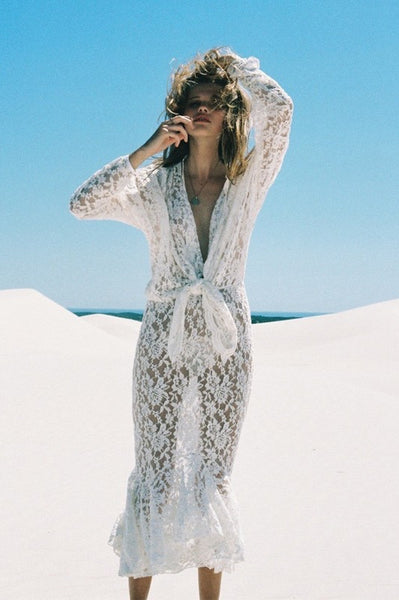 Lace Dress Cover-up
