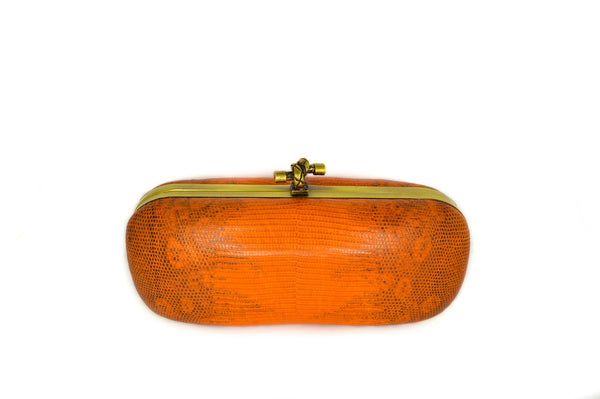 Lizard Tangerine Box