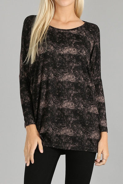 Washed Print Tunic