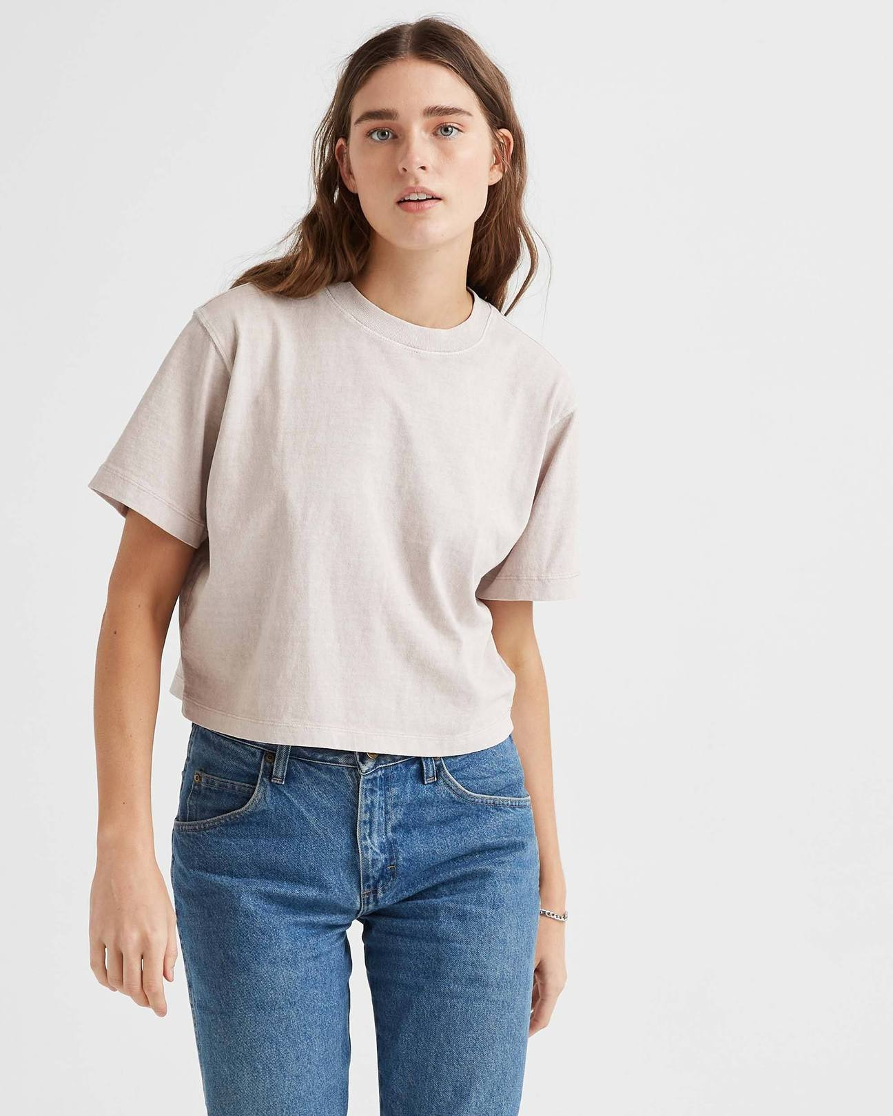 Relaxed Crop Tee