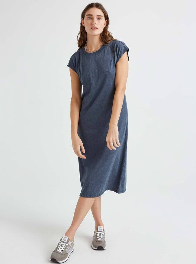 Blue Night Easy Dress-Picnic-sf