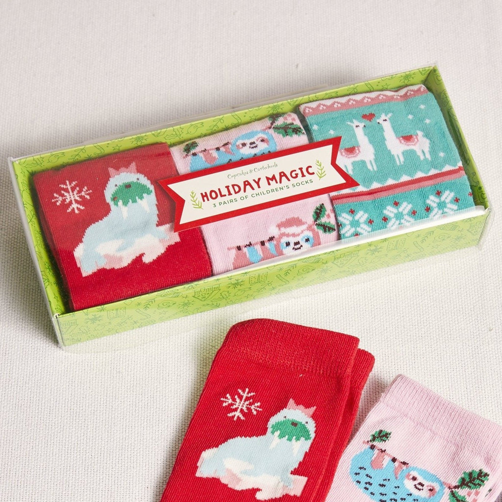 Holiday Magic Children's Socks Set - picnic-sf