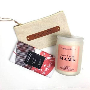 Chocolate & Candle Gift Set -Picnic-sf