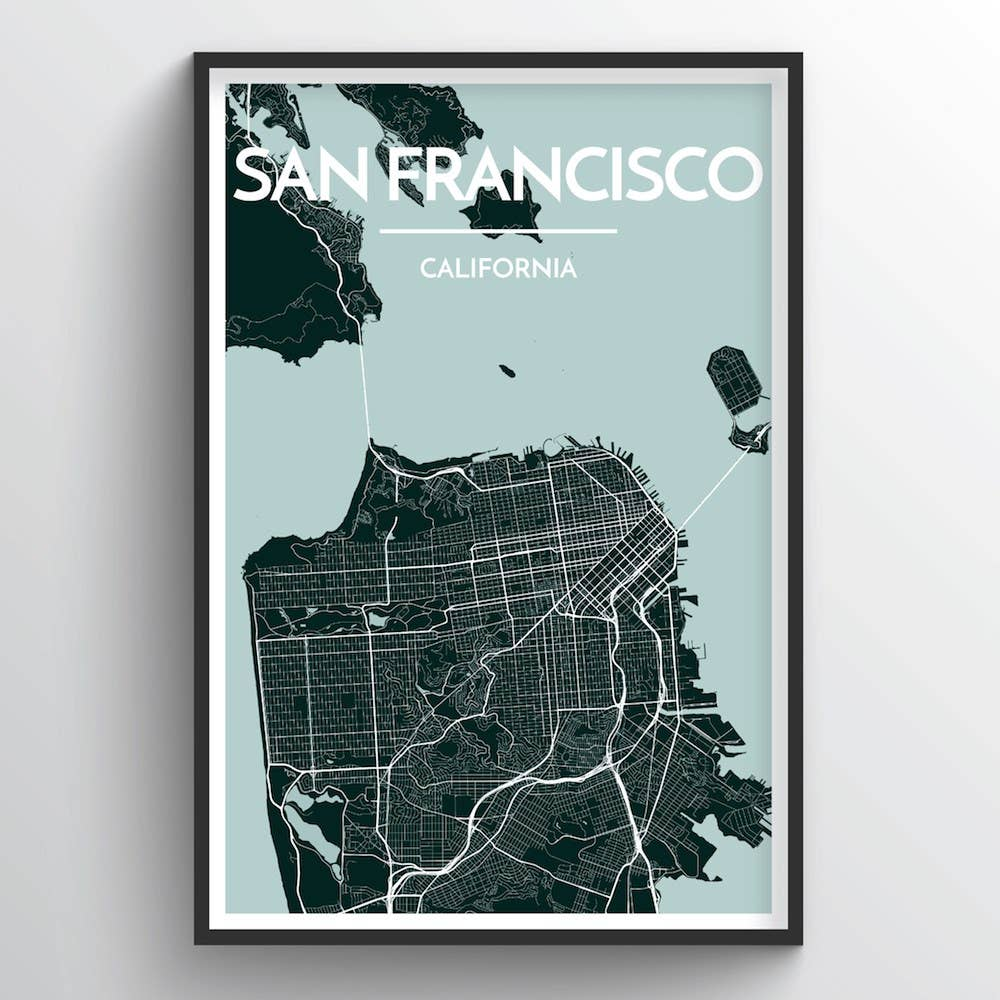 San Francisco City Map-Picnic-sf
