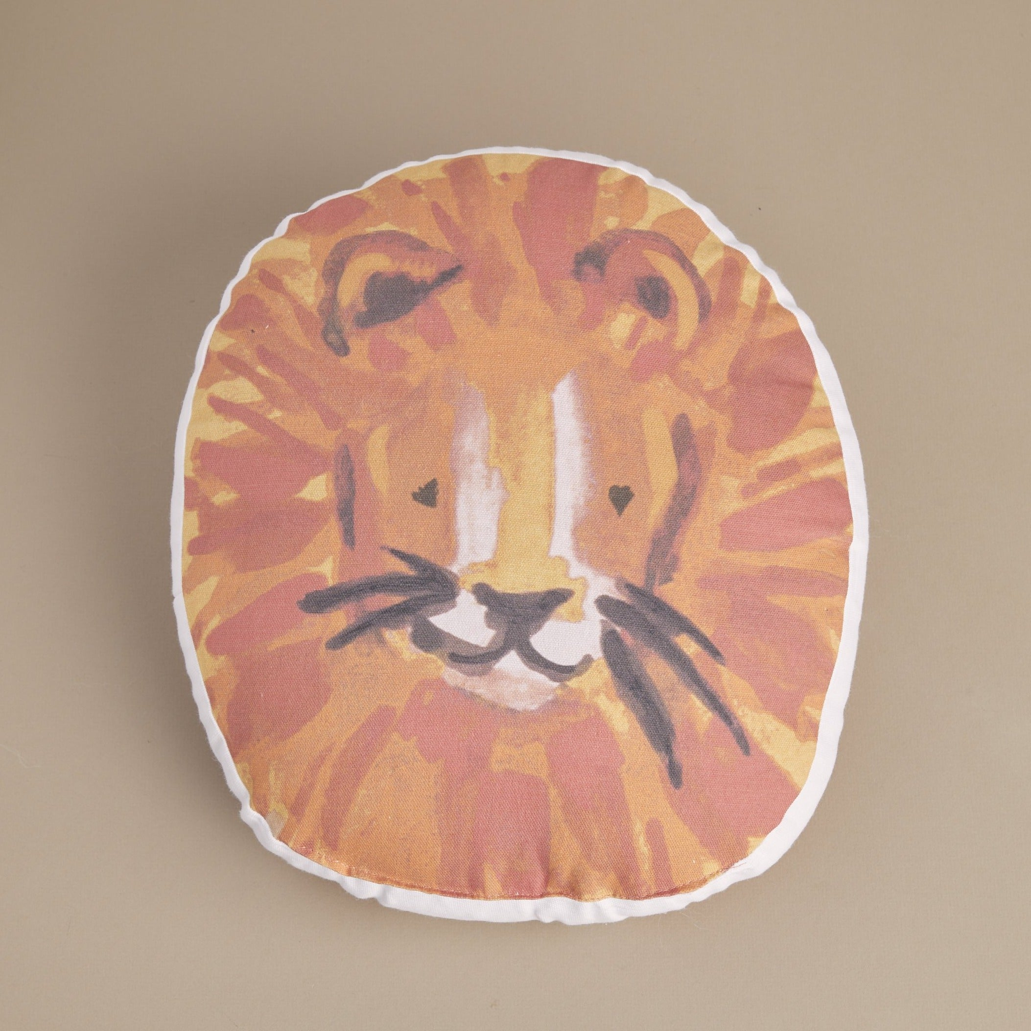 Be Wild Lion Pillow - picnic-sf