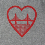 I Heart San Francisco Unisex Sweatshirt