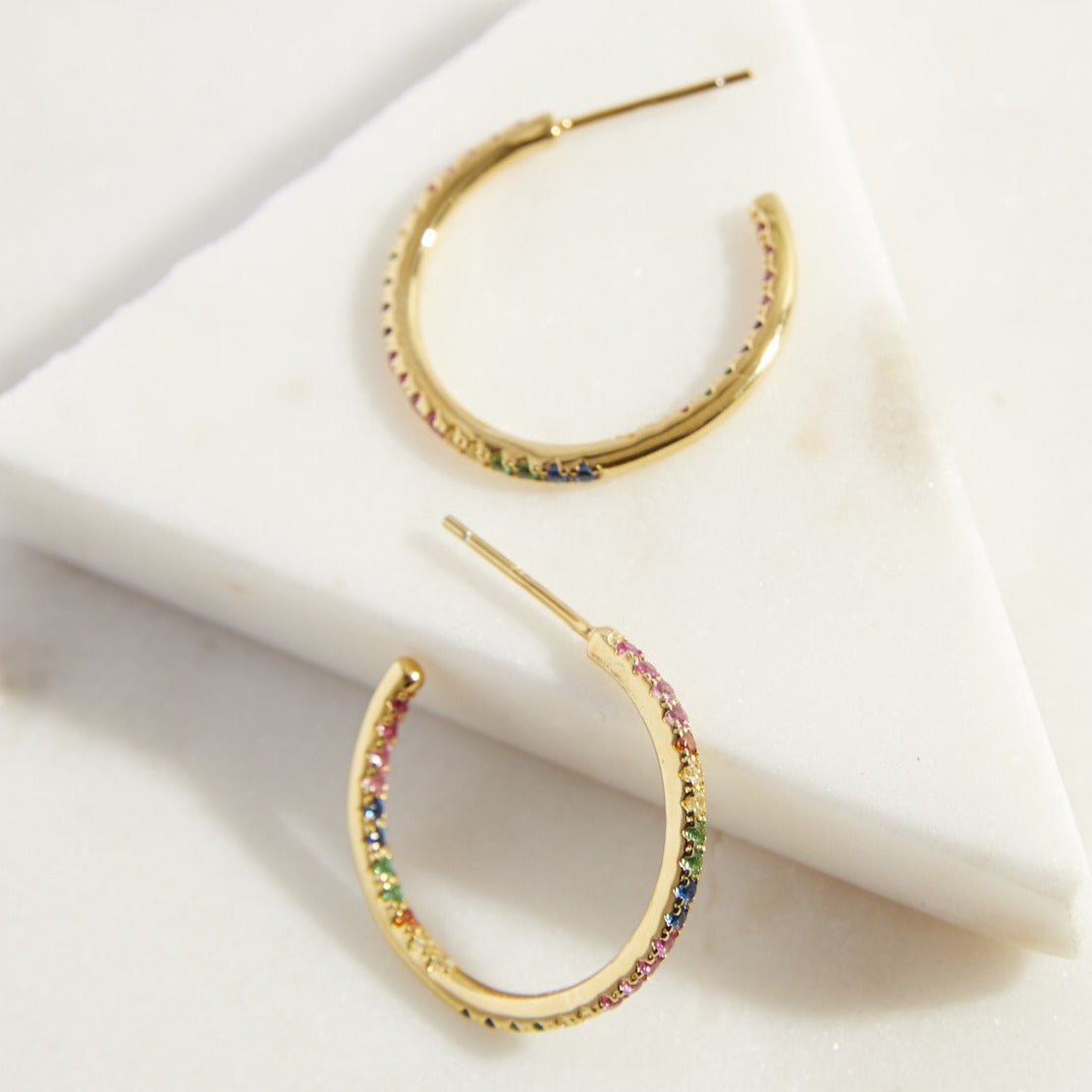 Rainbow Hoop Earring - picnic-sf