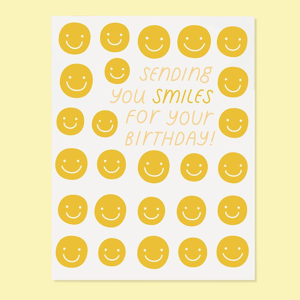 Sending Smiles Birthday Card-Picnic-sf
