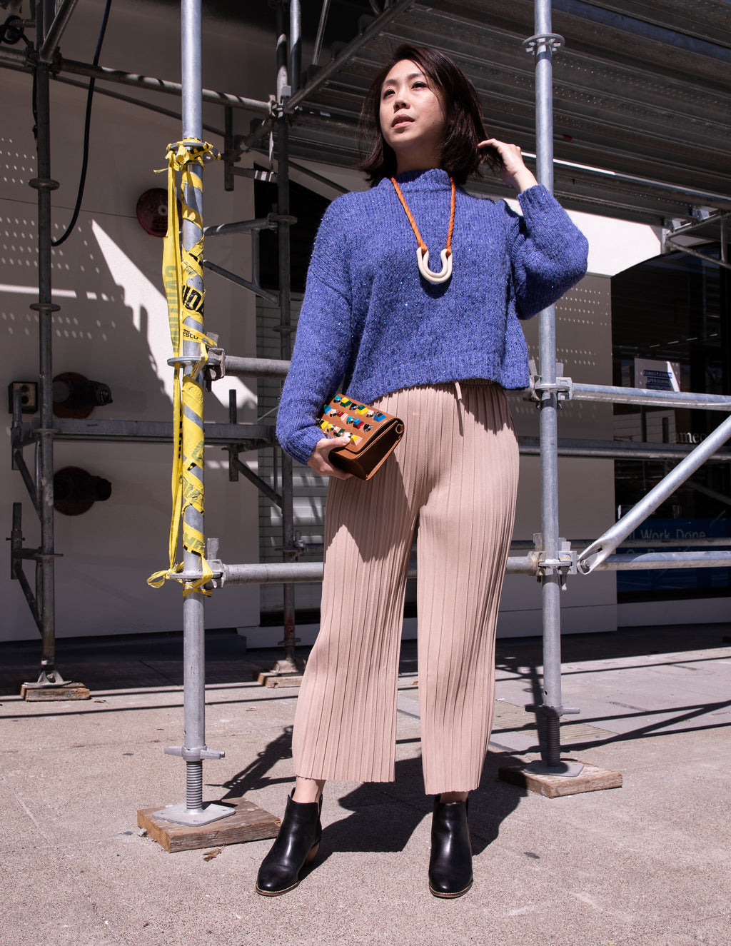The Franklyn Pleated Cropped Pants - picnic-sf