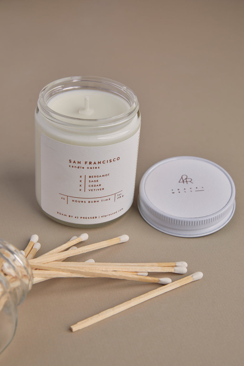 San Francisco Soy Wax Candle - P I C N I C