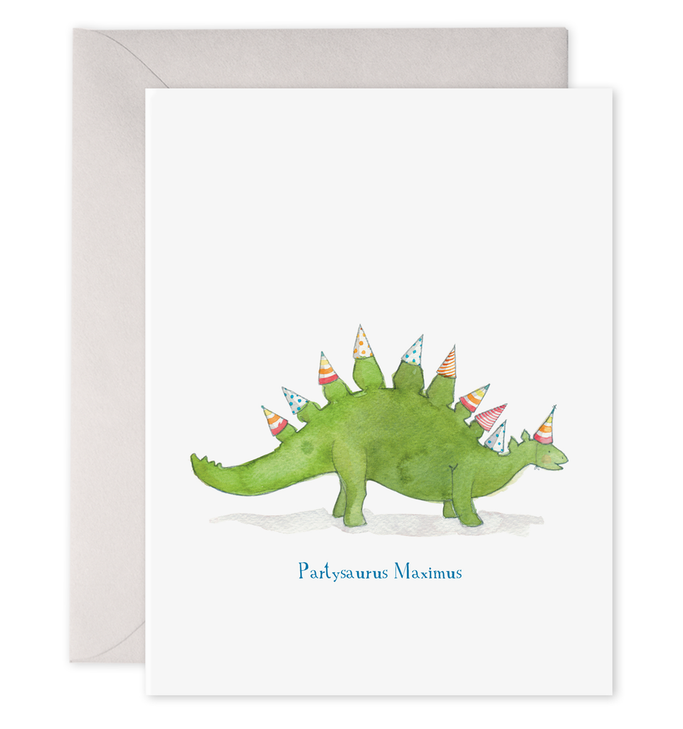 Partysaurus Birthday Card-Picnic-sf