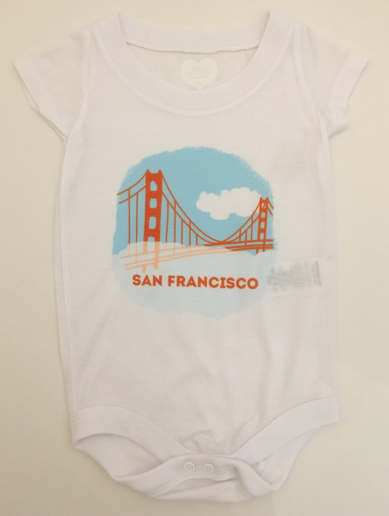 San Francisco City Scene Onesie