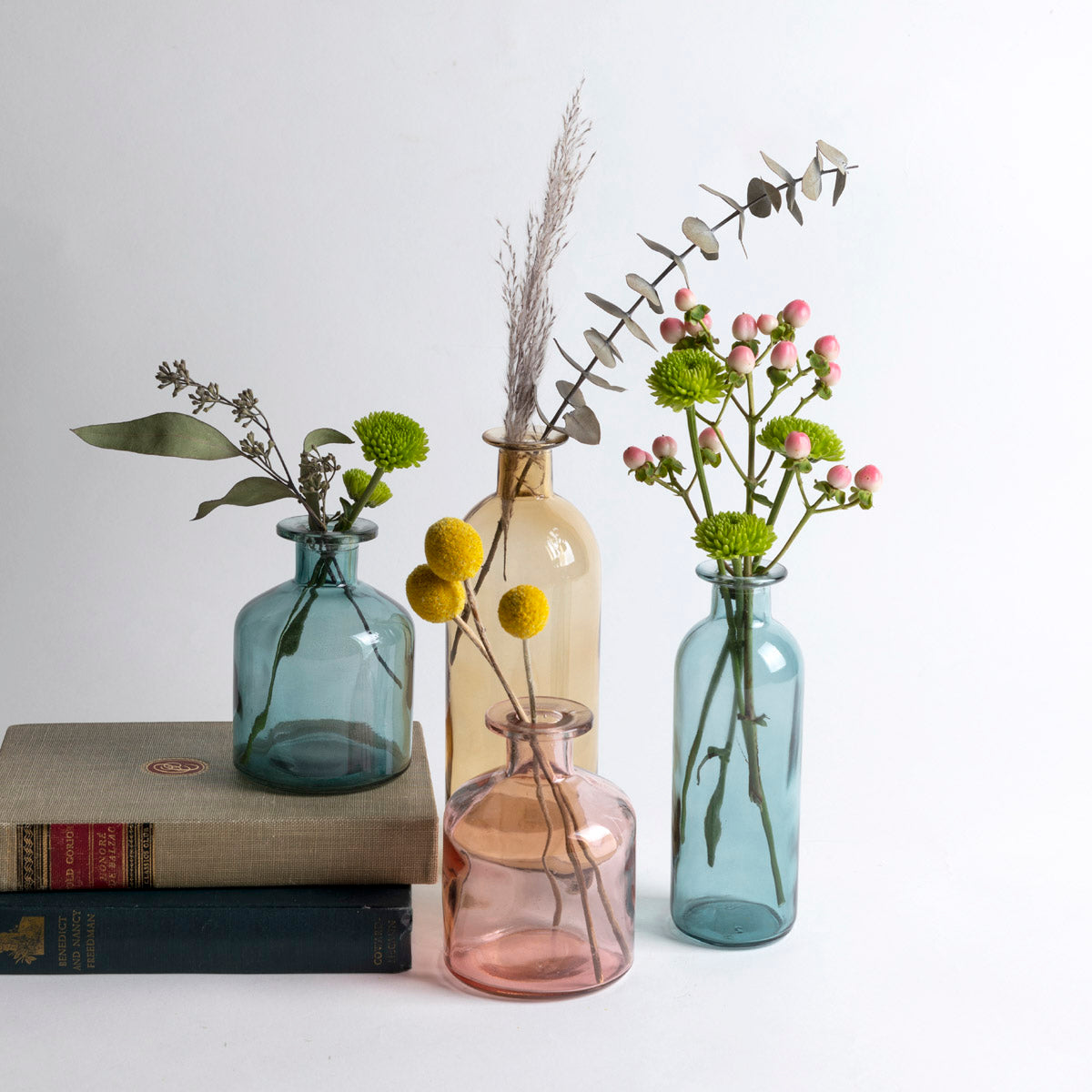 Colored Glass Vases - Picnic SF