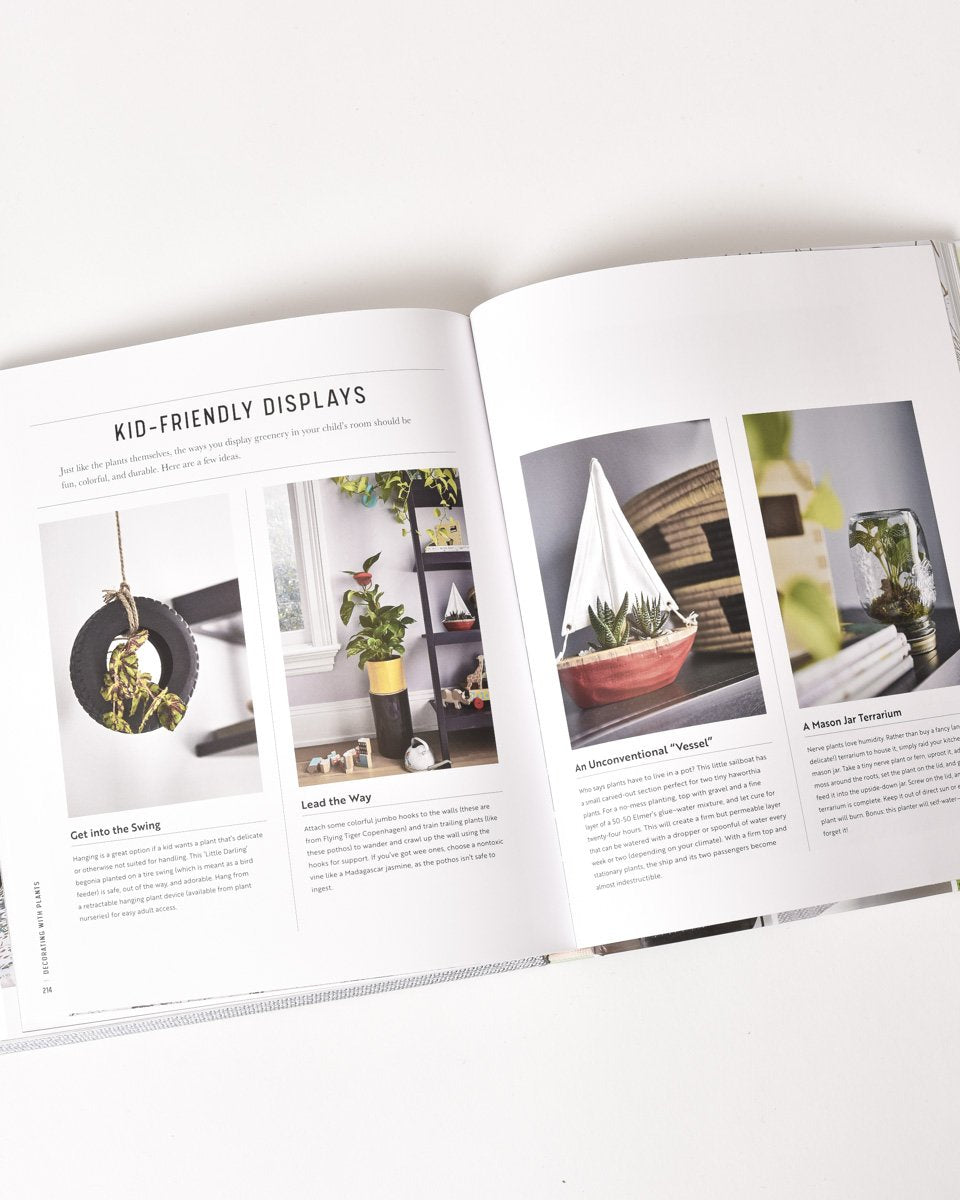 Decorating With Plants Book-Picnic-sf