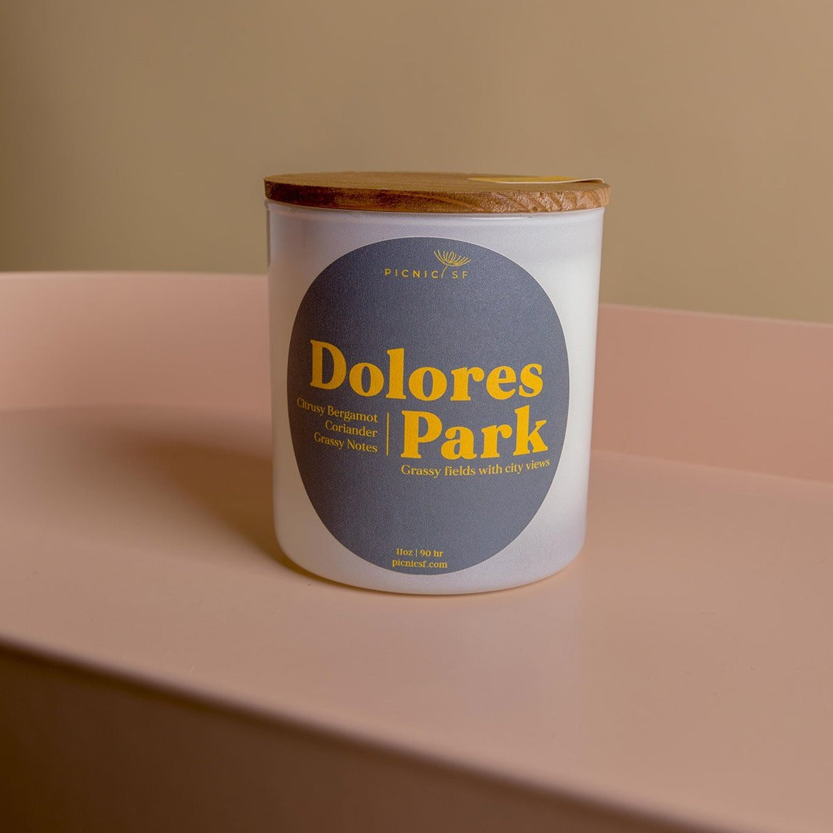 Dolores Park candle is a Picnic exclusive San Francisco candle available at Picnic SF.