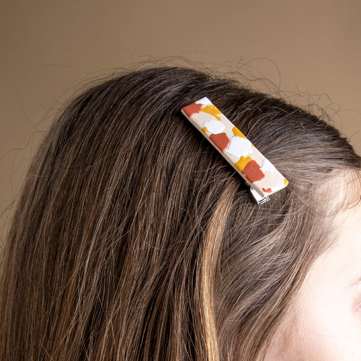 Elodie Polymer Clay Hair Barrette available at PICNIC SF