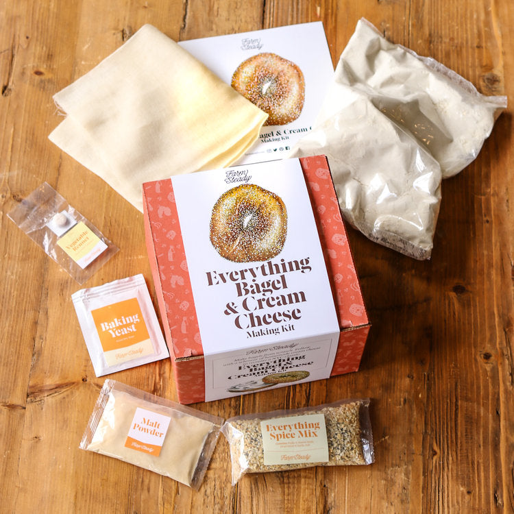 Everything Bagel & Cream Cheese Making Kit-Picnic-sf