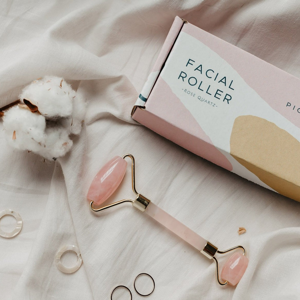 FACIAL ROLLER IN cute gift box available at PICNIC SF