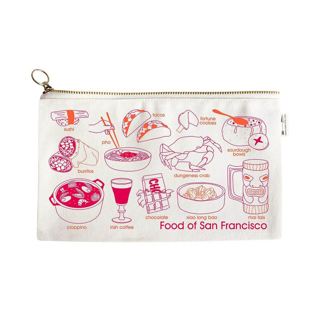 San Francisco Foodie Pouch