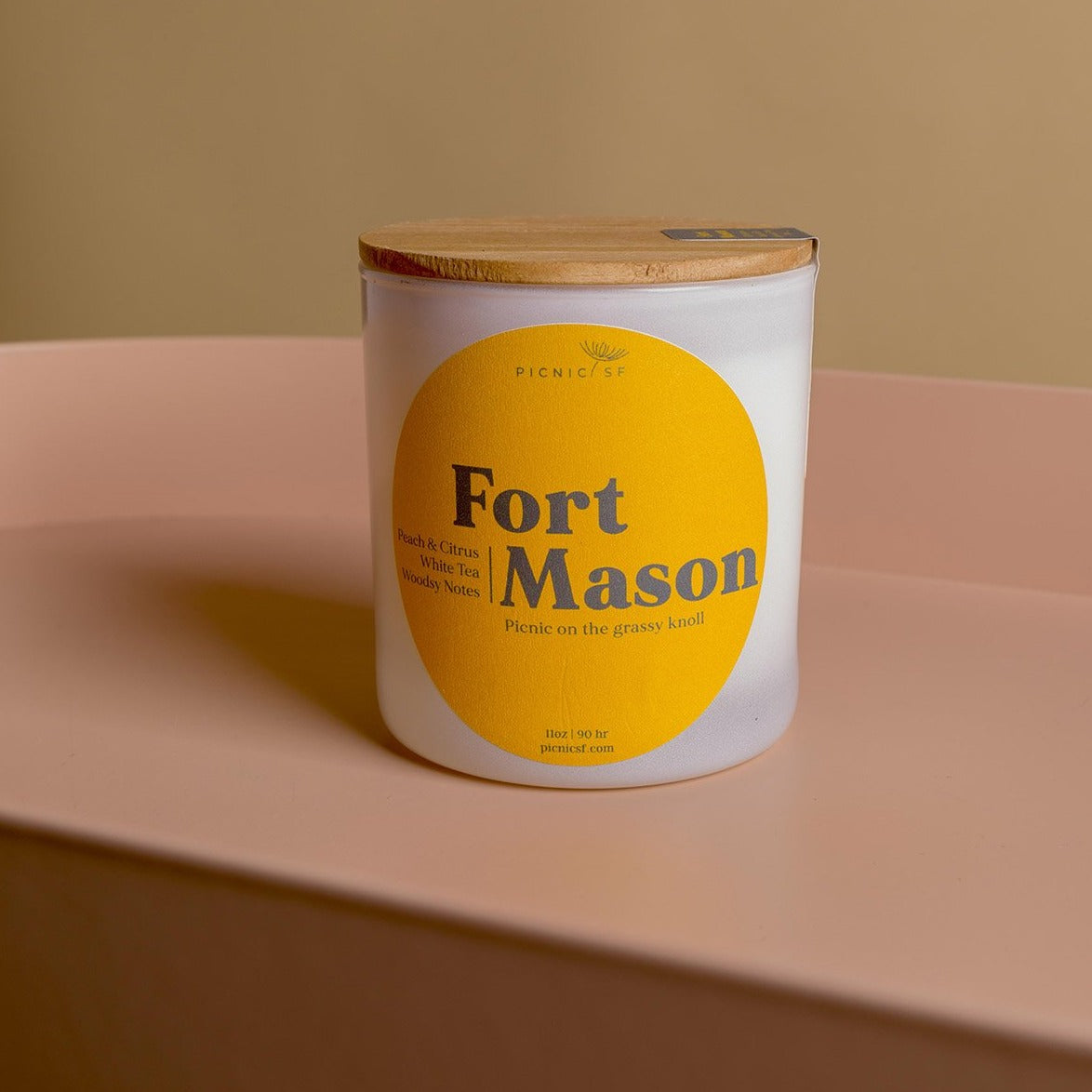 Fort Mason Candle. This Picnic exclusive San Francisco candle is available at Picnic SF.