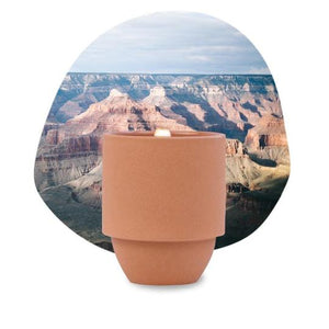 National Parks Ceramic Candle-Picnic-sf