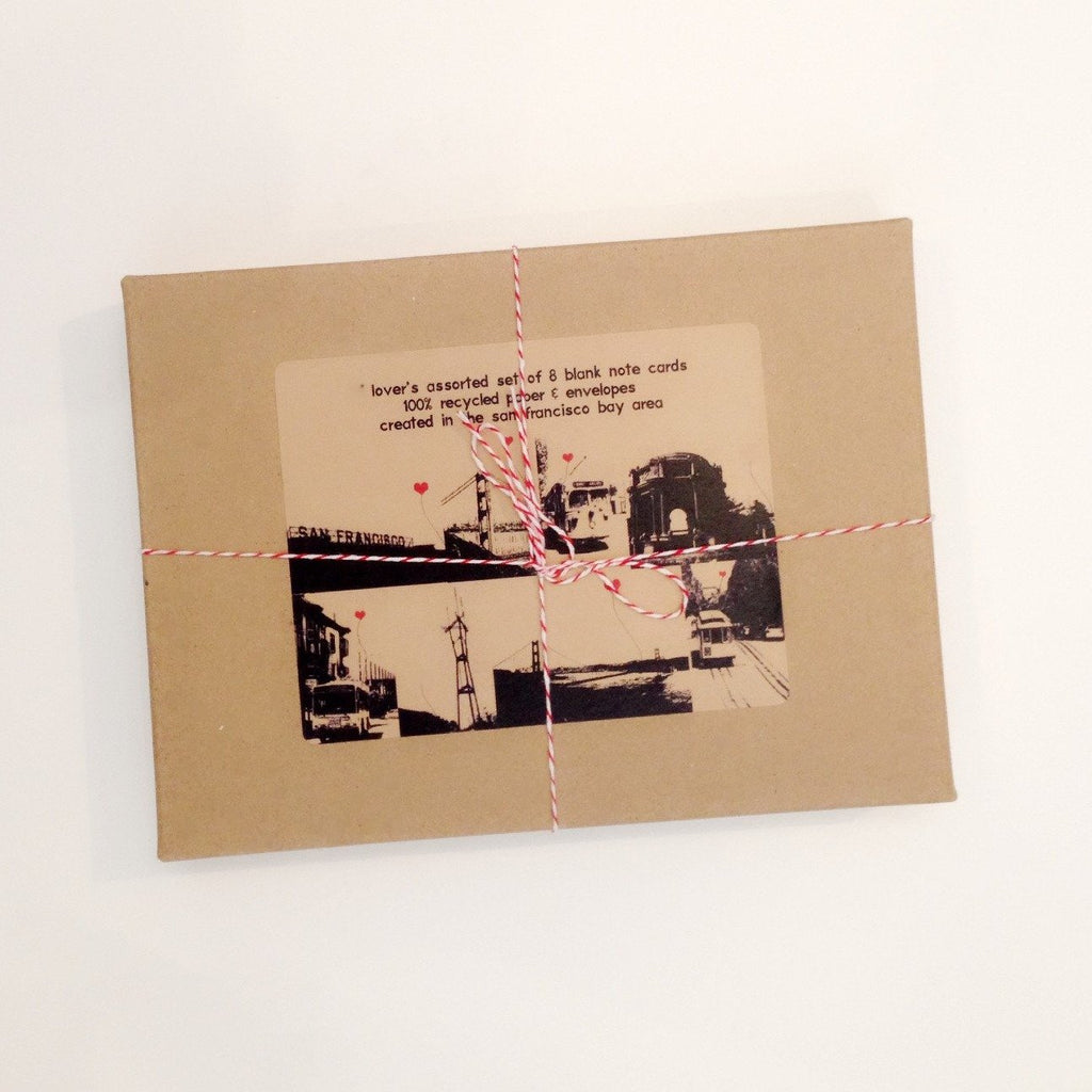 San Francisco Lover's Boxed Note Card Set - P I C N I C