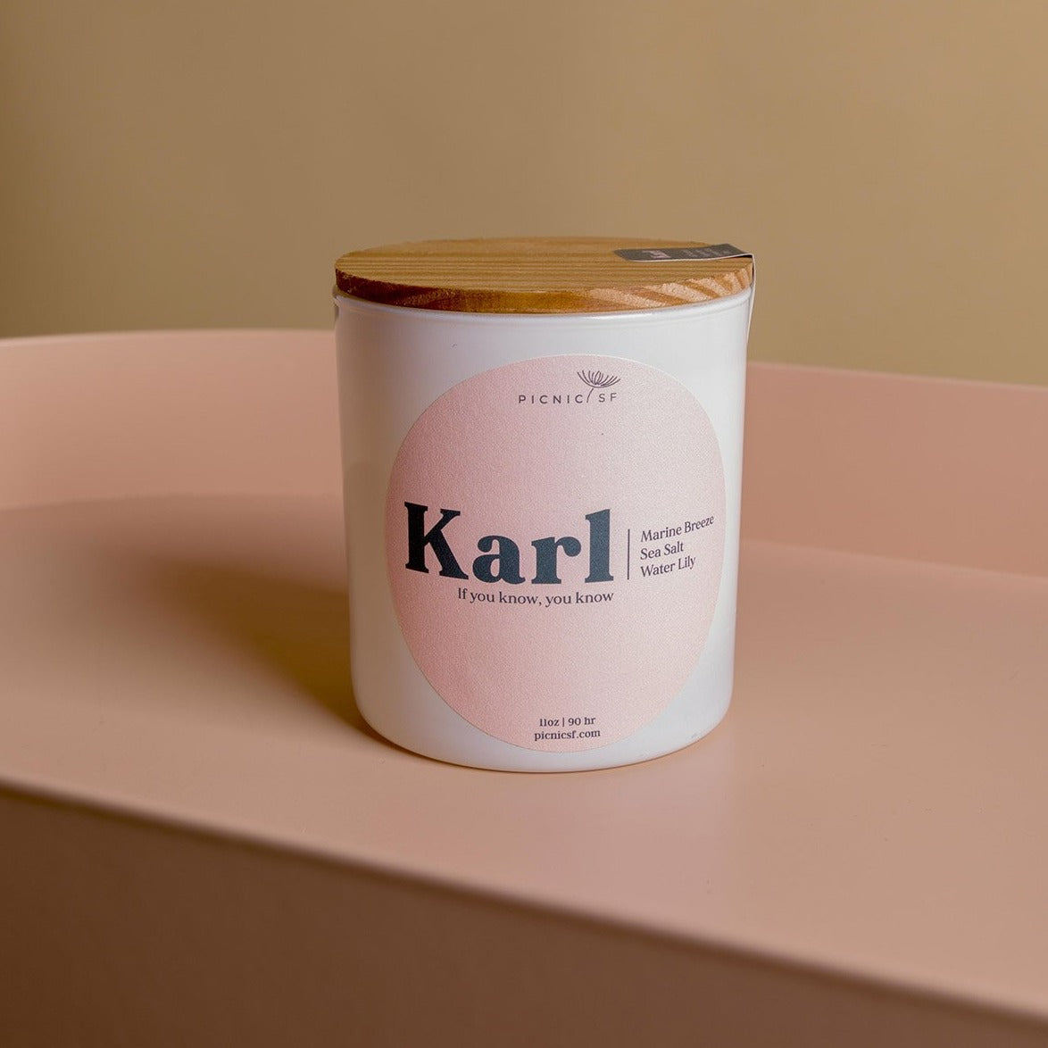 Karl Candle a Picnic exclusive San Francisco candle is available at Picnic SF