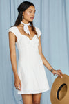 All Mine Sweetheart Neckline Mini Dress-Picnic-sf