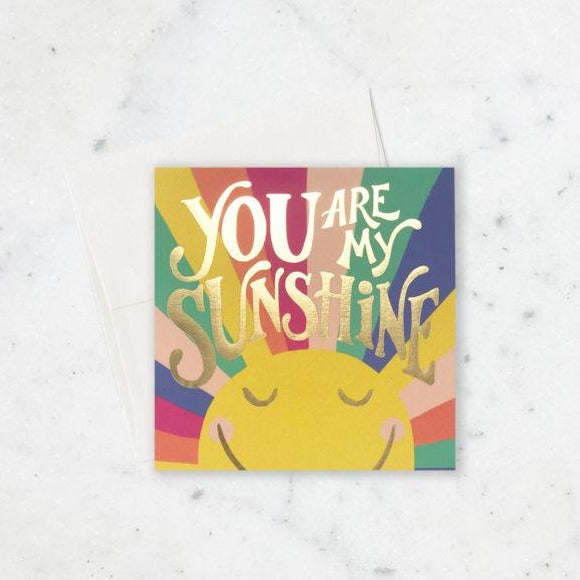 You Are My Sunshine Card-Picnic-sf