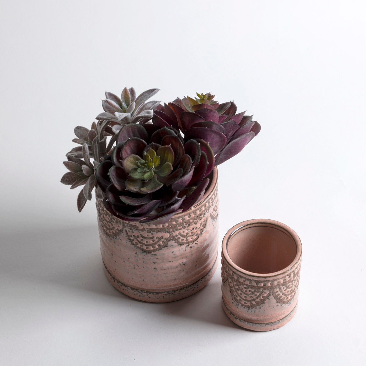 Lavender Lace Pot - Picnic SF