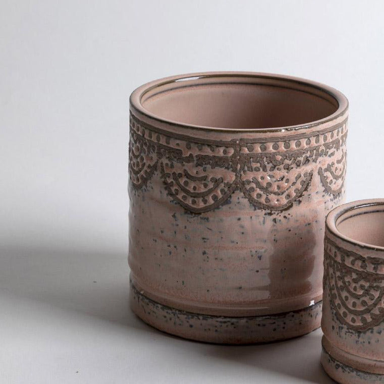 Lavender Lace Pot Large - Picnic SF