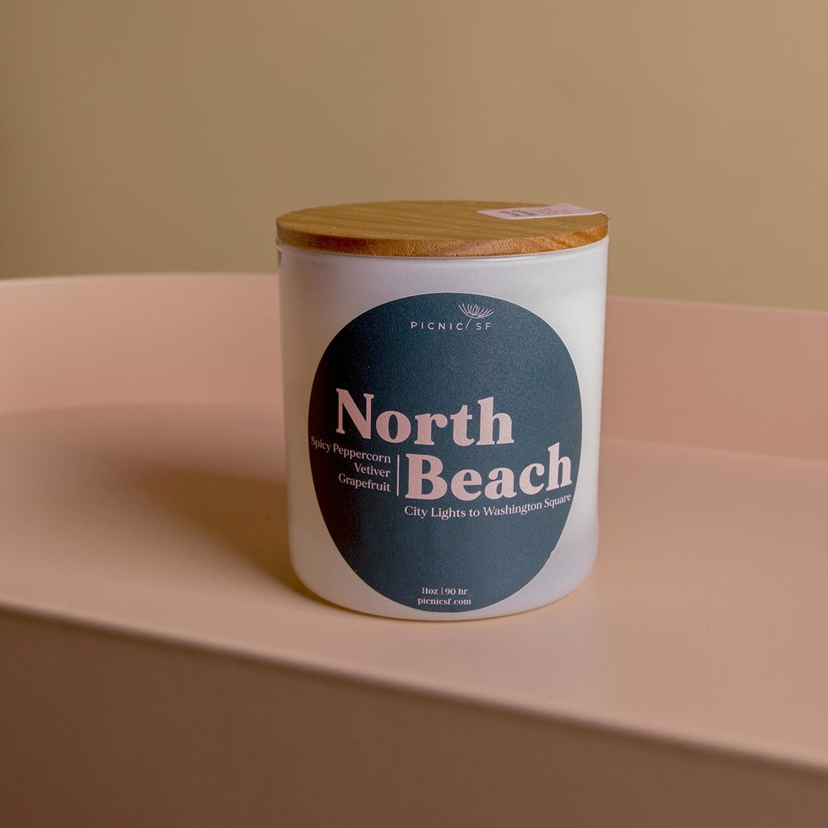 North Beach candle a Picnic exclusive San Francisco candle is available at Picnic SF.